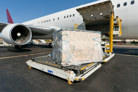 Import export air freight