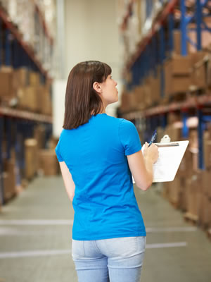 Precise warehouse order fulfillment