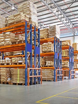 Precise warehouse storage